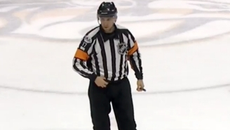An NHL Referee Dropped A Pair Of F-Bombs While His Mic Was On