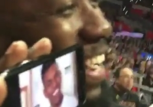 Nick Young Laughed After Lamorne Morris Trolled Him With His Own Meme