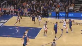 Nic Batum Delivered A Killer Pass For This Mind-Blowing Assist Against The Knicks