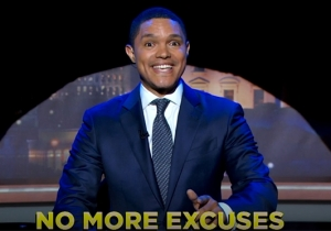 Trevor Noah Gave A Very Musical Response To Trump Officially Taking On The Role Of President