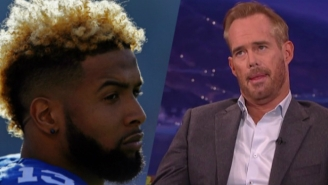 Twitter Destroyed Joe Buck For Blaming Odell Beckham's Drops On The Giants' Boat Trip