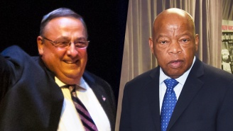 Maine Gov. Paul LePage Tells John Lewis To 'Look At History' And Thank Republican Presidents For Civil Rights Progress