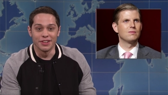 Pete Davidson Makes A Glorious Return To 'Weekend Update' To Give His Impressions Of Trump's Cabinet