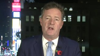 Piers Morgan Is Getting Ripped Apart For Making The Women's March On Washington All About Him