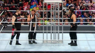 See The Shocking Ending To The WWE Universal Championship Match At Royal Rumble