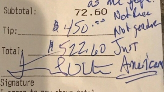 Trump Supporter Leaves An African American Waitress $450 Tip To Promote Unity