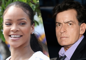 Charlie Sheen Reaches Out To Rihanna After Calling Her A 'B*tch'