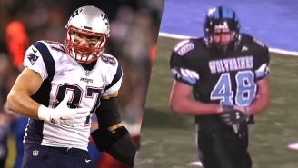 Rob Gronkowski Is An Absolute Beast In His High School Highlight Reel