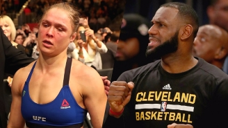 LeBron James Knows Exactly How Ronda Rousey Feels After Her Loss At UFC 207