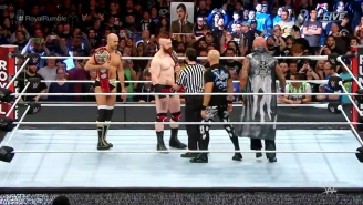 Watch The Controversy-Free Ending To The Raw Tag Team Championship Match At The Royal Rumble