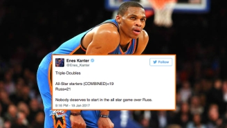 The NBA World Reacted With Disbelief To Russell Westbrook's All-Star Starter Snub