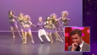 Ryan Gosling Can't Watch His Younger Self Dance, But We Can't Look Away