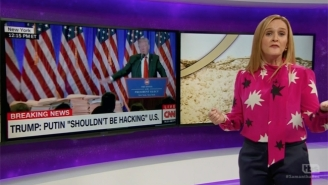 Samantha Bee Hardly Contains Her Glee Over The Fallout From Trump's 'Golden Showers' File