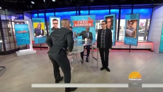 John Cena Had A Booty-Shaking Dance-Off With Fred Armisen On The 'Today' Show