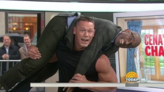 John Cena's Latest Feat Of Strength Is Squatting An Entire Al Roker