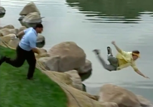 Bill Goldberg Once Tossed A Caddy Into A Water Hazard, Because He Can Do Whatever He Wants