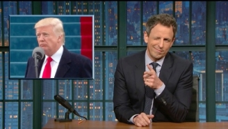 Seth Meyers Skillfully Filets Donald Trump Over The Whole 'Alternative Facts' Nonsense