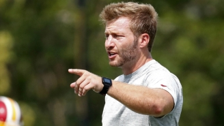 Rams Coach Sean McVay Is Somehow One Of The Favorites To Be The Next Browns Head Coach