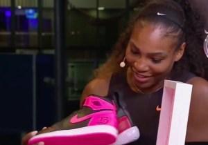 Michael Jordan Gave Serena Williams Custom Jordans For Her 23rd Grand Slam Win