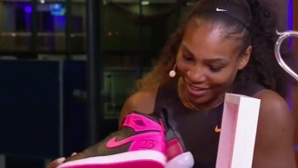 Michael Jordan Gave Serena Williams Custom Jordans For Her 23rd Grand Slam Win