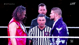 Behold The Glorious Dueling TakeOver Entrances Of Bobby Roode And Shinsuke Nakamura