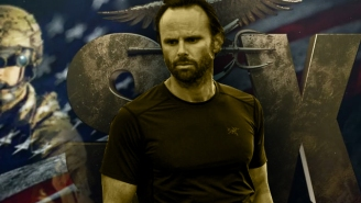 Walton Goggins On Why He Doesn't Want His New Navy SEAL Drama 'Six' To 'Be A Piece Of Propaganda'