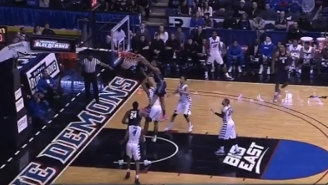 This Nasty College Hoops Dunk Is A Reminder To Everyone To Box Out