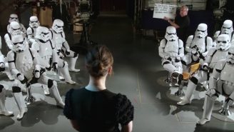 The Force And Stormtroopers Are With Felicity Jones In Her 'SNL' Promo