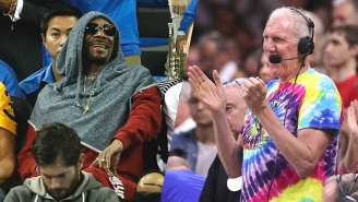 Bill Walton Lit Up When He Realized Weed Enthusiast Snoop Dogg Was At A Game He Was Calling