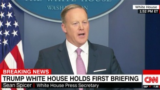 Sean Spicer In His First Scheduled Briefing: 'I Think Sometimes We Can Disagree With The Facts'