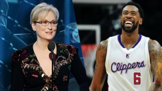 DeAndre Jordan Says He's Had A Crush On Meryl Streep Since He Was A Kid