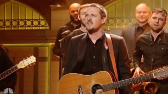 Watch Sturgill Simpson Get Fiery And Rambunctious For 'Keep It Between The Lines' On 'SNL'