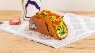 Taco Bell's Chalupa In A Fried Chicken Shell Goes Nationwide This Month