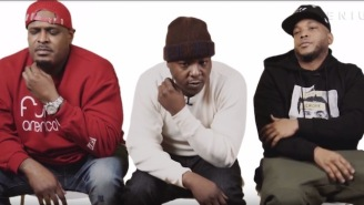 The Notorious B.I.G. Pulled A 'Control' Move On The Lox For Their First Song