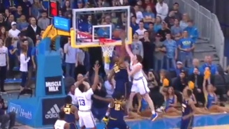 UCLA's T.J. Leaf Embarrassed A Cal Defender With This Explosive One-Handed Dunk