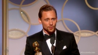 Tom Hiddleston Bows To The Internet Outrage Cycle And Apologizes For His Awkward Globes Speech