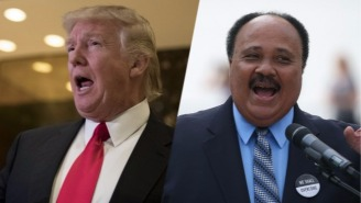 Trump Will Try To Amend His MLK Day Weekend Behavior By Meeting With Martin Luther King III