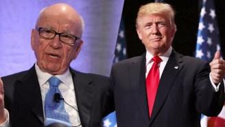 Report: Rupert Murdoch Plans To Morph Fox News Into A Full-Fledged Pro-Trump TV News Network