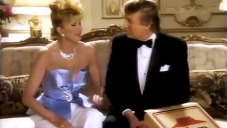Storyboards From Donald And Ivana Trump's 1995 Pizza Hut Commercial Are Selling For Big Bucks
