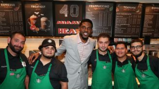Miami Heat Veteran Udonis Haslem's Post-NBA Plans Involve Subway And Starbucks