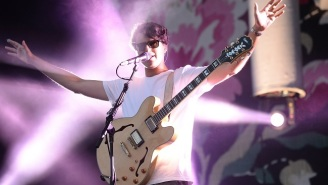 Ezra Koenig Answered A Fan's Pie-Encrusted Query About The Status Of The Next Vampire Weekend Album