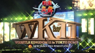 NJPW Wrestle Kingdom 11 Results
