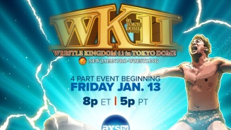 Wrestle Kingdom 11 Gets An Encore On AXS TV Starting Tomorrow