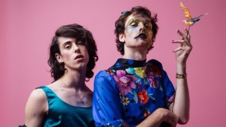 PWR BTTM Are Working With Cyndi Lauper's Manager To Regain Control Of Their Music