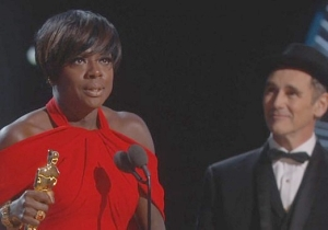 Viola Davis Finally Wins Her First Oscar For Best Supporting Actress In 'Fences'