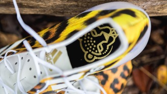 Adidas Dropped Some Cheetah Print Cleats To Help You Run Your Best 40-Yard Dash