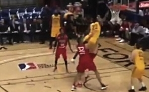 This D-League Dunk Was So Good That The Referees Ignored An Obvious Charge