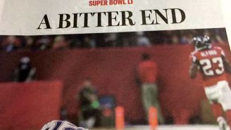 The Falcons Won The Super Bowl, At Least According To An Early Edition Of The 'Boston Globe'