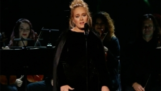 George Michael Probably Would've Loved Adele's Grammys Tribute F*ck Up