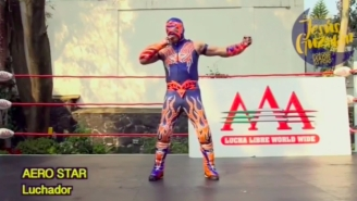 A Pair Of Lucha Underground Stars Did Conan O'Brien Impressions To Welcome 'Conan' To Mexico